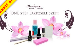 One step lakkzselé szett